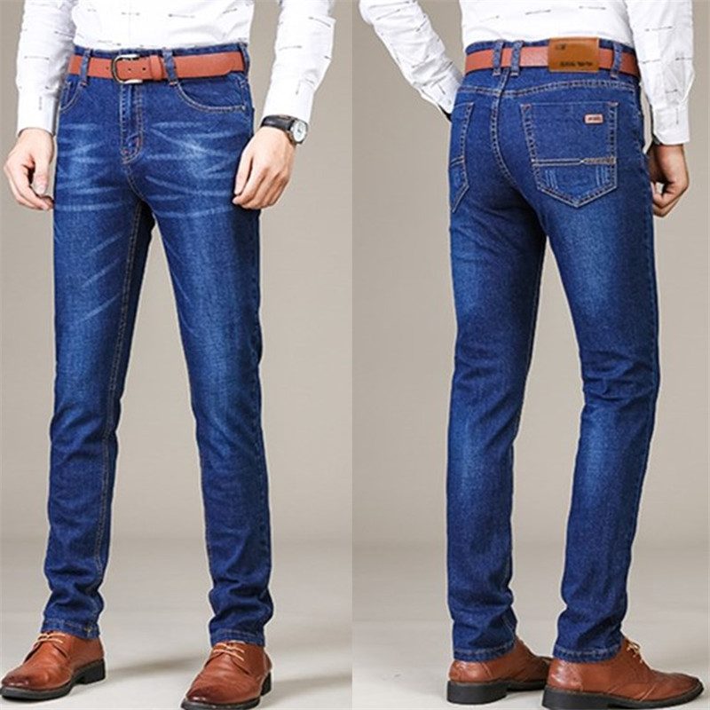 Men Jeans Super Stretch Slim Casual Jeans Summer Autumn High Quality Fashion Hip Hop Skinny Jeans For Men Plus Size 28~40 H101