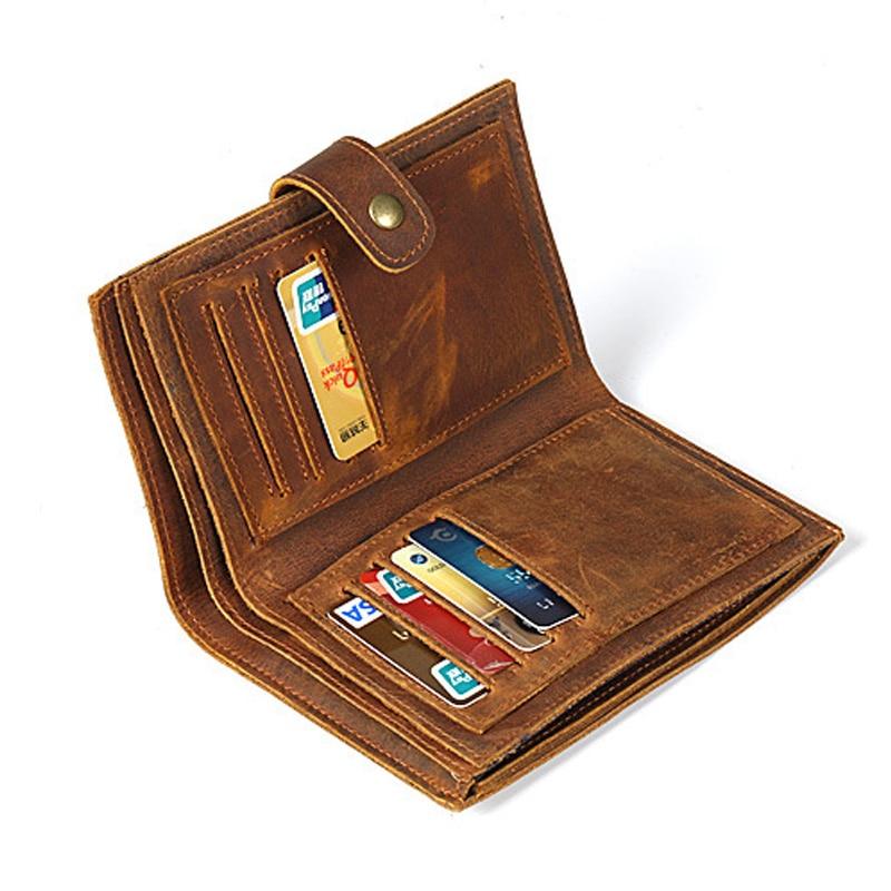 Long Wallet Men Purse Men Wallets Casual Business Card Holder Vintage Large Wallet Long Wallet Men Purse Men Wallets Casual Business Card Holder Vintage Large Wallet