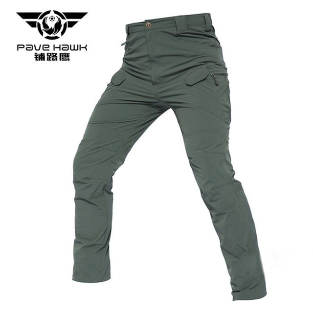 Pave Hawk For Men Tactical Pants Men's Cargo Pants Multi Pockets Slim Casual Pant Male Army Military Combat Trousers