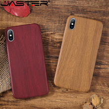 JASTER PU Case Cover For Iphone 6 6S 7 7plus 8 Plus Wood Grain Yellow Soft Phone Cases For Iphone XS Max XR X Luxury Back Cover все цены
