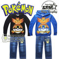 New Spring Autumn Children Clothing Boys Clothing Sets Cartoon Boys Clothes Suit Baby Boys Hoodies+Jeans Trousers 2 PC Set
