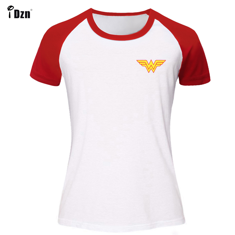 Summer Women's T-shirt Short Sleeve tshirt Animation Wonder Woman Retro Printed Graphic Girl's t shirt Cotton Tees Tops Clothes image