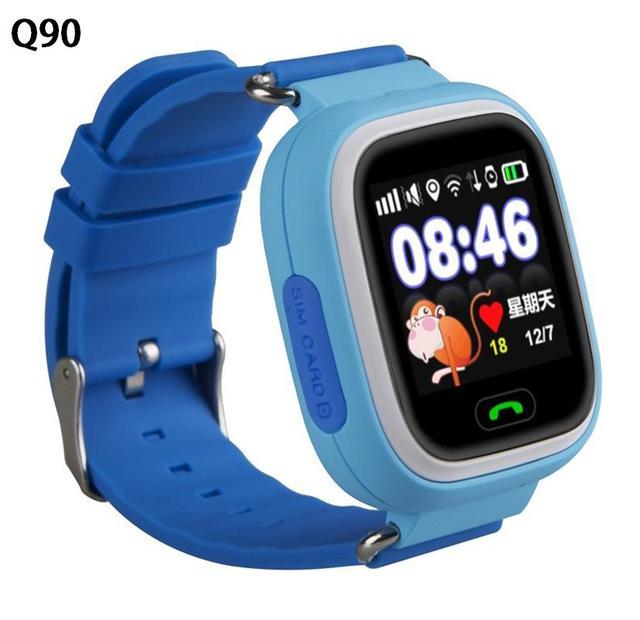 Q80 Q90 Детей Безопасности Anti Потерянный GPS Трекер Smart Watch Для Детей SOS Аварийного Для Iphone & Android Smartwatch