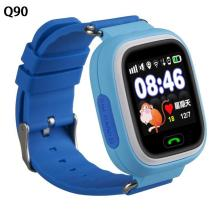 Q80 q90 hijos seguridad perdida anti gps tracker smart watch para niños sos de emergencia para iphone & android smartwatch