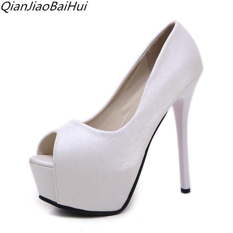 2018 vroče najnovejše razkošne čevlje z visokimi petami ženske - Ženski čevlji