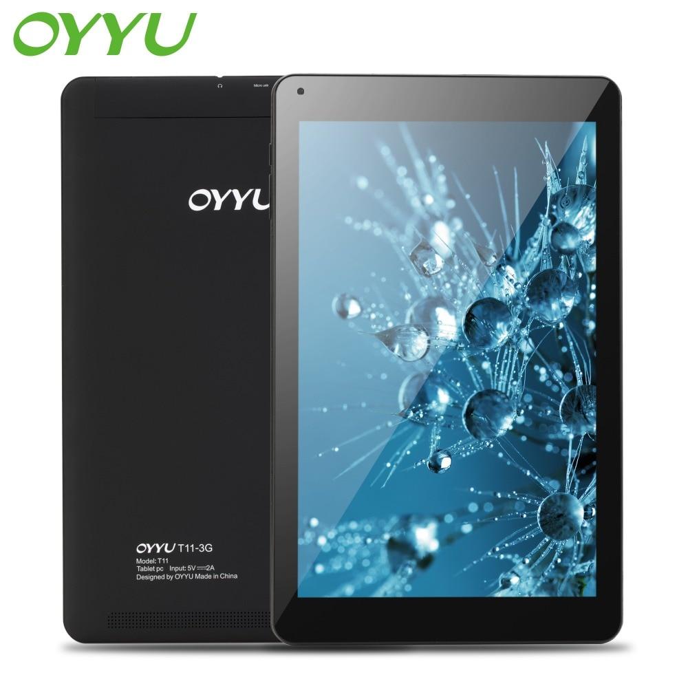 OYYU T11 10.1 inch Phablets Android 7.0 3G Phone Call Tablet Pc Quad Core 1.3GHz 1GB+16GB MT8321 GPS WiFi Bluetooth New Tablets lnmbbs tablet 10 1 android 5 1 tablets quad core 3g tablet 1gb ram 16gb rom 1280 800 dual cameras wifi otg gps phablets chinese