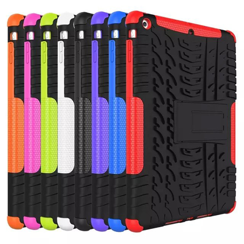 Armor Shockproof Heavy Duty Silicone Hard Case Cover For Apple iPad Air/iPad 5(2013) Protector Tablet Accessories Y4C14D
