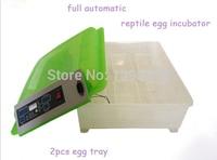1PC Newest HT 48 Transparent CE Approved 48 eggs full automatic egg incubator hatcher 110/220V Mini incubator