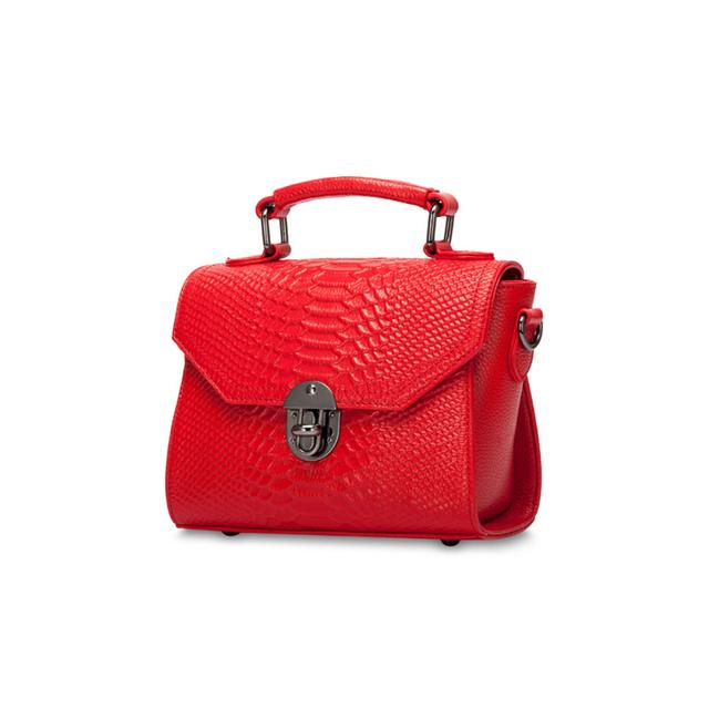 Arnagar Genuine Leather Alligator Pattern Handbag
