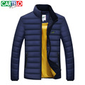 Cartelo brand 2016 MEN's business winter MEN new style MEN's DOWN JACKETs collar fashion able WHITE DUCK DOWN JACKETs clothing