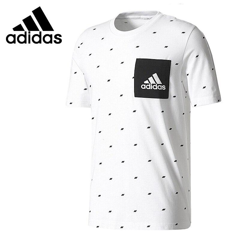 Original New Arrival  Adidas ESS SEASONAL T Men's T-shirts Short Sleeve Sportswear