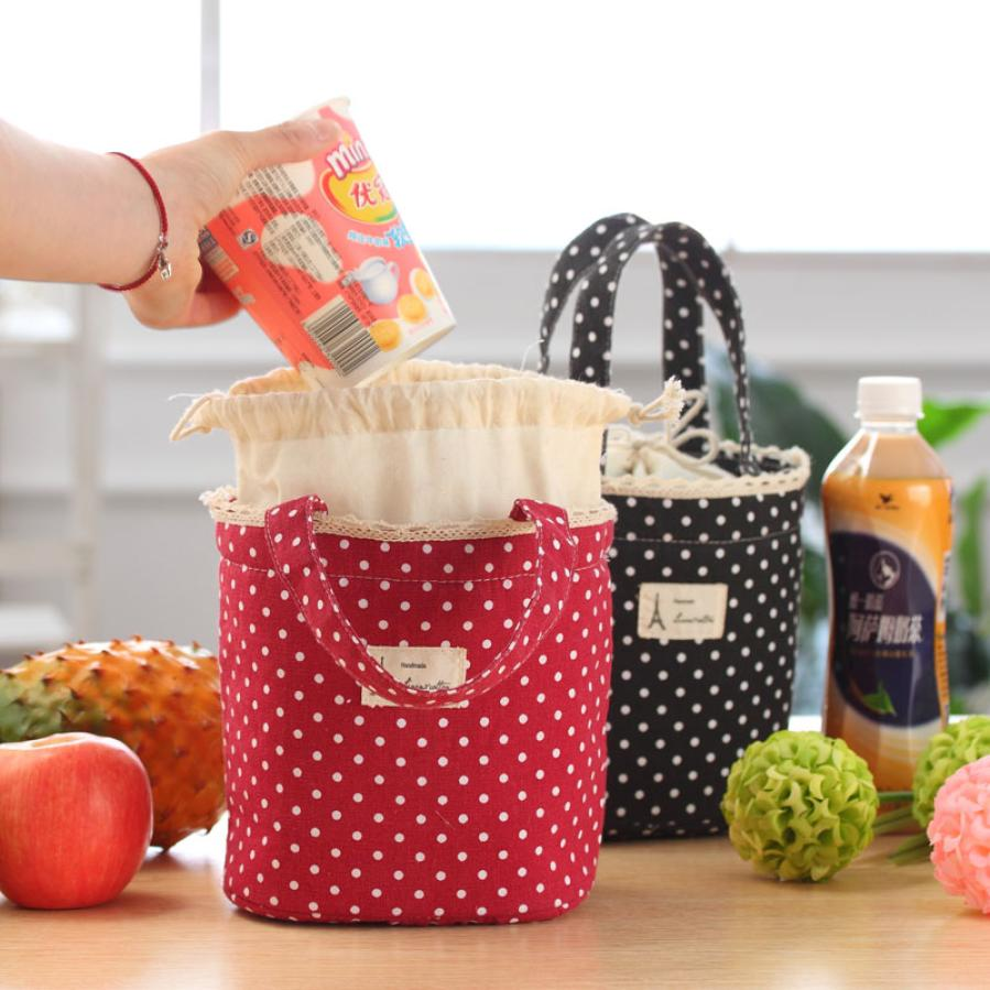Thermal Insulated Lunch Box Cooler Bag Tote Bento Pouch Lunch Container Wonderful35%