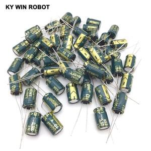 Image 5 - free shipping 50pcs Aluminum electrolytic capacitor 1000uF 10V 8*12 Electrolytic capacitor