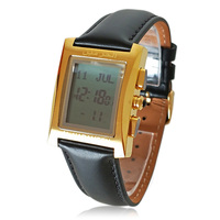 Azan Watch with Automatic Adhan Time and Qiblah for All Muslim All Around World 100% Original Best Ramadan Gift