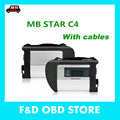V2017.03 Mercedes MB Star SD C4 full set 21 languages NEW MB Star C4 MB SD connect 4 diagnosis compact  dianostic tool Free ship