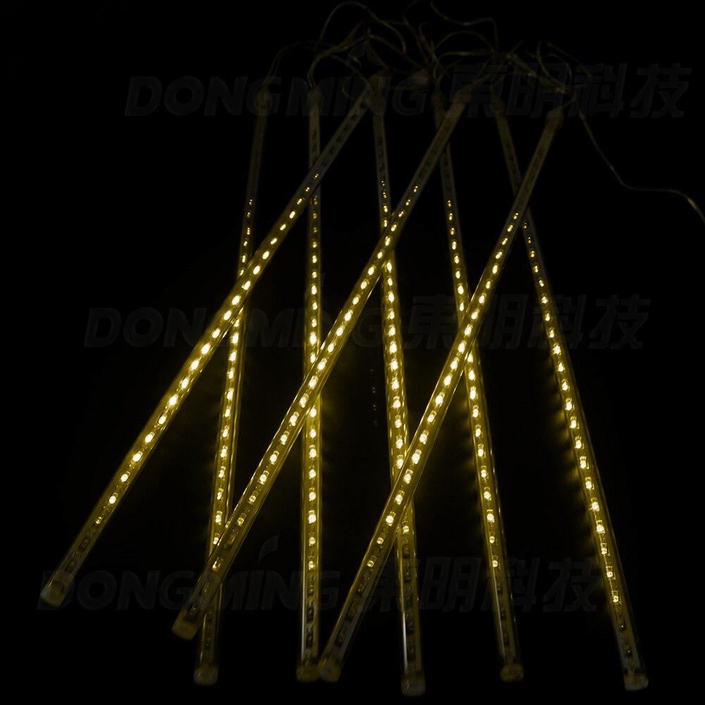 50CM Meteor Douche Tubes De Pluie LED De Noël Lumières Garden Party - Éclairage festif - Photo 3