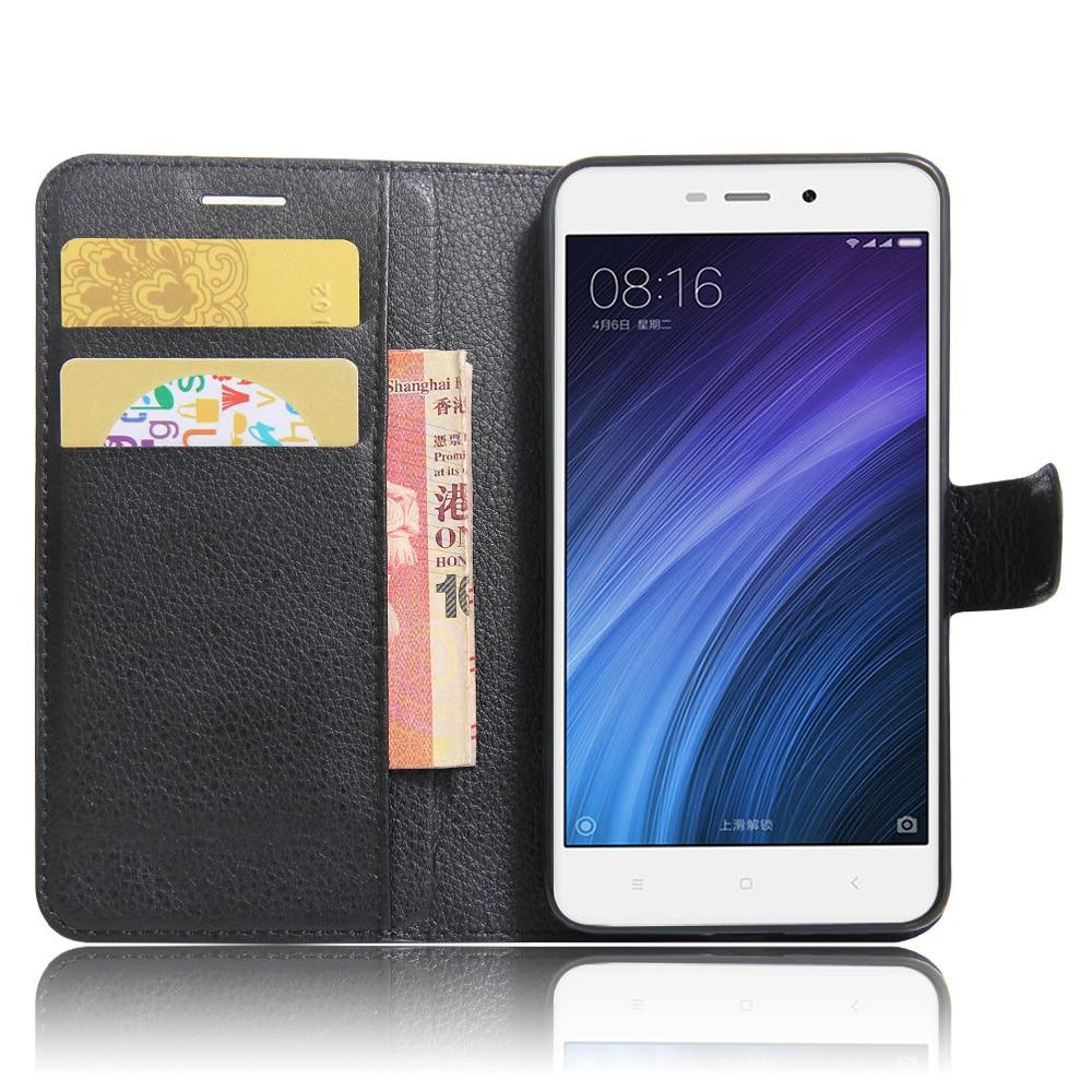 Xiaomi redmi 4A Funda de 5.0 pulgadas Funda de cuero de lujo de la PU - Accesorios y repuestos para celulares - foto 5
