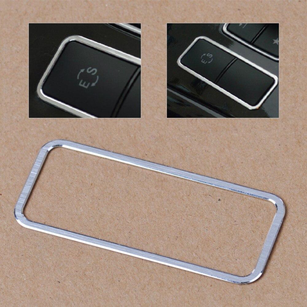 CITALL центральная консоль ES Модель Переключатель декоративное покрытие отделка панель управления подлокотник Крышка для Mercedes Benz E класс E260L E300L