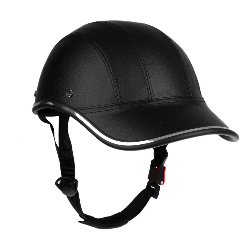 Bicycle MTB Skate Helmet Comfortable Protection Free Size Soft Leather Mountain Bike Helmet for Men Women Lightweight Design image