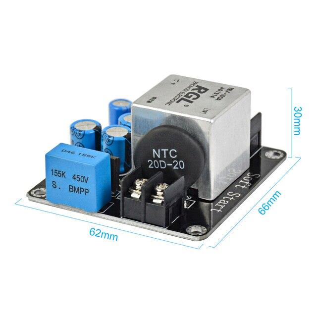 AIYIMA 100A 4000W carte de puissance de Circuit de démarrage en douceur haute puissance pour Mini amplificateur Audio de classe A