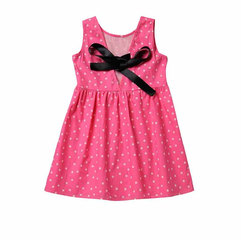 Милое детское летнее платье для девочек; милое детское платье из хлопчатобумажной смеси с принтом; одежда; Vestidos; детская одежда с рукавами для подростков