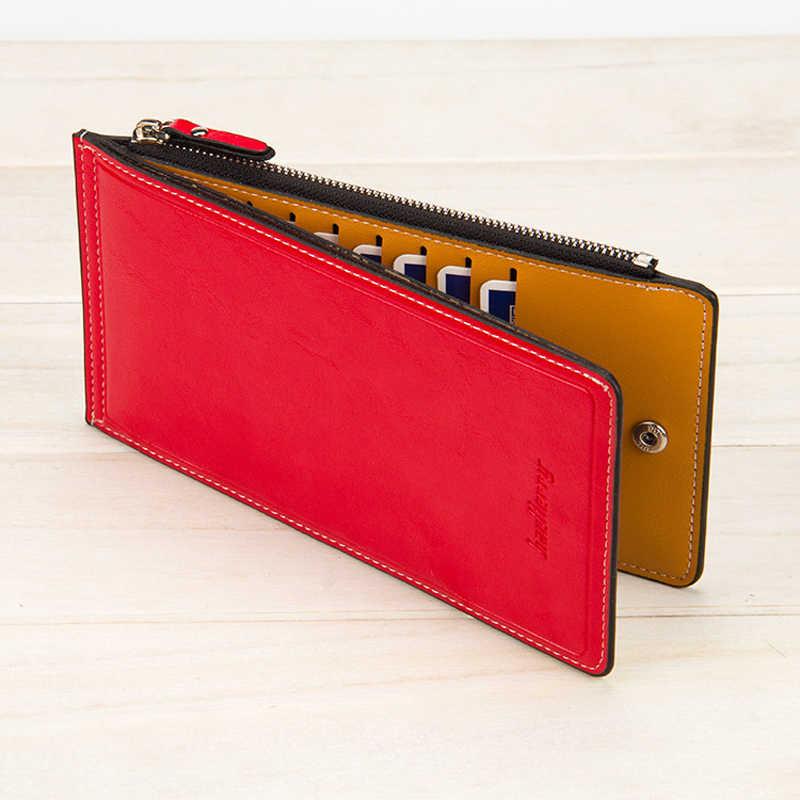 67ec26c47cf9 Baellerry роскошный кожаный женский бумажник кошелек женский длинный  кредитной держатель для карт женский кошелек, клатч