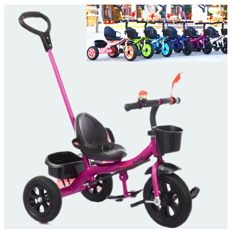 Baby Carriage with 3 Wheels Baby Tricycle Bicycle Child