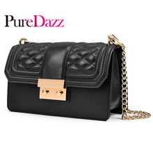 2018 Classical Genuine Leather Women Bag Fashion Shoulder Crossbody for Chain Flap with Cotton Lining