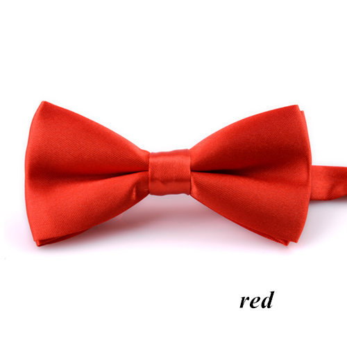 1pc/lot New Boys Girls School Fashion Bow tie For Kids Bowtie Solid Candy Colorful Baby Butterfly Cravat Gravata