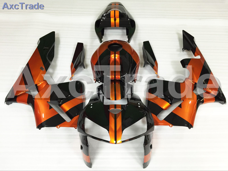 Motorcycle Fairings Kits For Honda CBR600RR CBR600 CBR 600 RR 2005 2006 F5 ABS Plastic Injection Fairing Kit Bodywork Orange abs injection fairings kit for honda 600 rr f5 fairing set 07 08 cbr600rr cbr 600rr 2007 2008 castrol motorcycle bodywork part