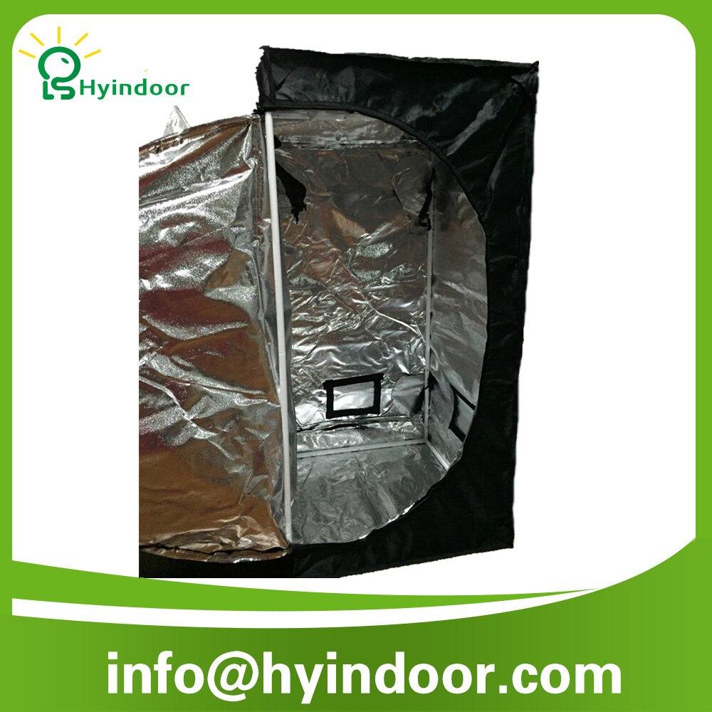 60 * 60 * 120 la culture hydroponique intérieure cultivez tente serre réfléchissants Mylar Non toxique chambre