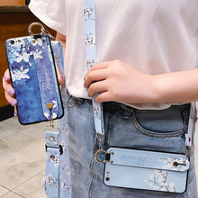 flower strap tpu case for iphone 8 7 6s 6 plus XR X XS MAX case cover fashion wristband holder soft phone bag capa fundas strap tpu case for iphone 8 7 6 6s plus xr x xs max case cover fashion drink wristband holder soft silicon phone bag capa fundas