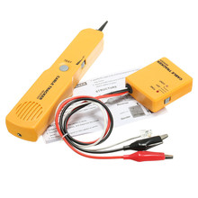 Wire Telephone Finder Tracker Tester Telephone Network Cable Wire Line Tone Sender Receiver Networking Detector Tool Kit + Box