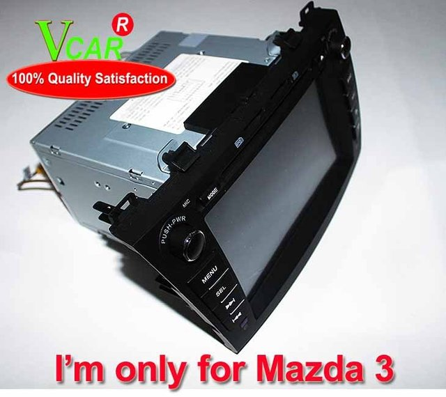 2 din high quality,hot sale,7 inch special car DVD player for Mazda 3