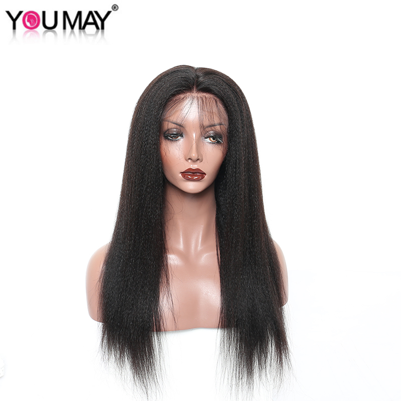 13x6 Lace Front Wig Deep Part Lace Front Wigs For Women Brazilian Wig Yaki Straight Pre Plucked With Baby Hair You May Remy Hair ...