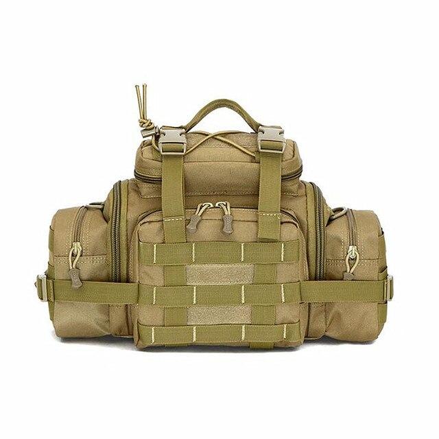 De alta Calidad de Camuflaje Tacticsl Paquetes de La Cintura del Camuflaje Paquete de La Cintura Para Los Hombres Y Mujeres Del Ejército Militar bolsa de Mensajero