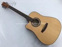 Guitare gauchère, guitares acoustiques électriques coupe 41