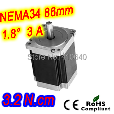 5 pieces per lot Stepper motor 34HS31-3008S L 80 mm Nema 34 with 1.8 deg current 3 A torque 3.2 N.cm and 8 wires ambaraba 5 guida per l insegnante