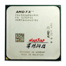 AMD FX Series FX-4300 4300 3.8 GHz, processeur Quad Core, prise AM3 +