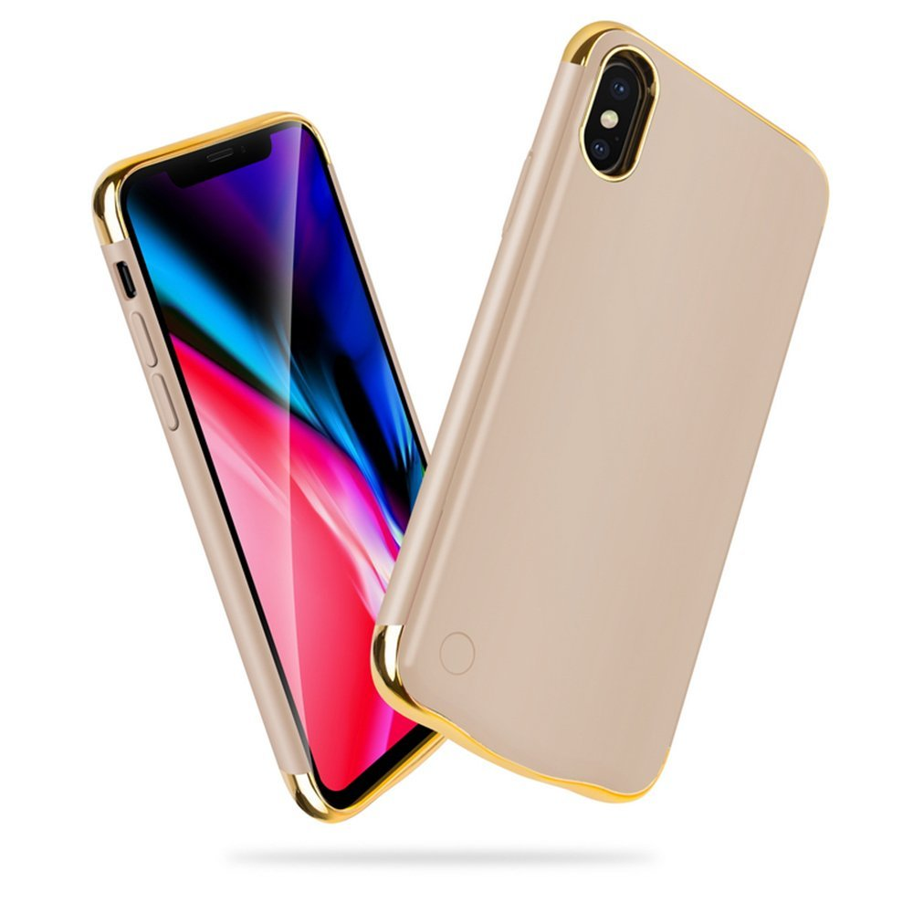 US Stock Fast Delivery / 5500mAh Battery Case For iPhone X 2017 / XS 2018 External Power bank Charger Phone Shell CoverUS Stock Fast Delivery / 5500mAh Battery Case For iPhone X 2017 / XS 2018 External Power bank Charger Phone Shell Cover