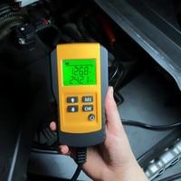 Digital 12V Car Battery Tester Automotive Vehicle Accumulator Battery Condition Analyzer Voltage ohm CCA Test Detector