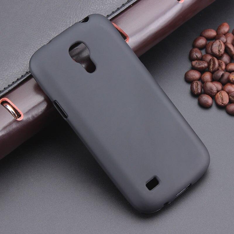 Black Gel TPU Slim Soft Anti Skiding Case Back Cover For Samsung Galaxy S4 Mini I9190 4.3inch Phone Rubber Silicone Bag