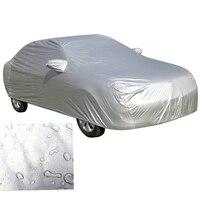 Evrensel Su Geçirmez Toz Geçirmez Dış Tam araba kılıfı UV Güneşe Dayanıklı Koruma Açık Yağmur Kar Buz suv Sedan Hatchback