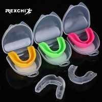 REXCHI Sport Mund Wache EVA Zähne Beschützer Kinder Jugend Mundschutz Zahn Klammer Schutz für Basketball Rugby Boxen Karate