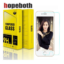 500pcs/lot For Apple iPhone X 8 7 6 6S Plus 5 5S 5C SE Tempered Glass Screen Protector Film 9H HD Protective Glass For iPhone 10