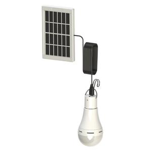 Image 5 - LED 태양 원격 제어 빛 태양 전구 램프 실내 방수 패널 비상 플라스틱 전구 후크 텐트 랜턴 야외