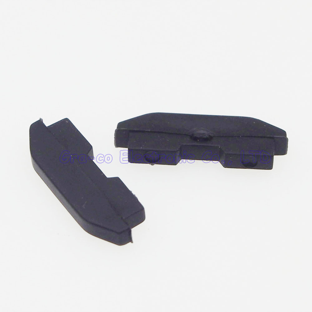 10pair/lot Rubber Pad Dustproof Pad Protective Cover For PS4 1200 Controller back of the host use