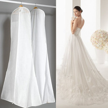 10piece Double Side Non-woven Bridal Gown Formal Dress Evening Wedding Dress Dust Cap Bag Garment Clothing Storage Cover ZA1821