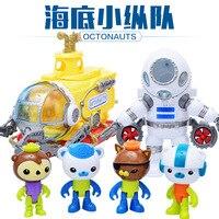 2017 Octonauts Submarine Diving Suit Toys With Octonauts Figures Baby Children Xmas Gift