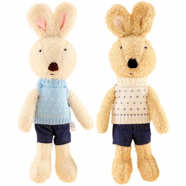 Jesonn dressed stuffed bunny animals soft plush toys easter jesonn dressed stuffed bunny animals soft plush toys easter rabbits for childrens gifts negle Choice Image